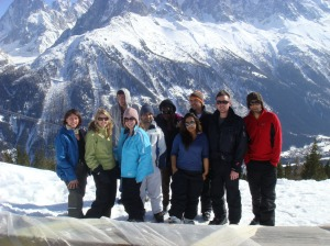 Chamonix Group 2009!