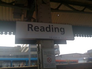 Reading - change trains!