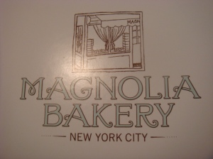 The famous Magnolia Bakery