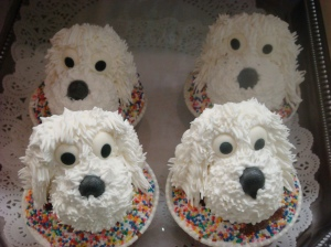 Cute Doggy Cupcakes