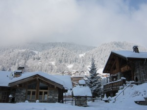 Champagny Chalet View