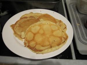 Smoky Pancake Stack